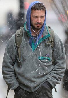 Shia-Labeouf-wears-Patagonia-Lightweight-Synchilla-Snap-T-Fleece-Pullover | UpscaleHype