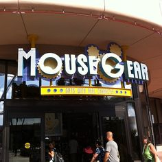 Mousegear. I wish I was there right now!