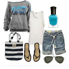 """""""Stroll along the Beach!"""" by mayra-aguilera on Polyvore"""