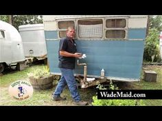 Restoring Faded Paint by Hand on a Vintage Travel Trailer