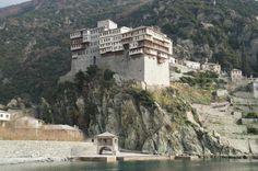Monte Athos, monasterio Dionysiou