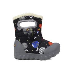 24465b565474 B-Moc Space Kid's Insulated Boots - 72276I Kids Winter Boots, Winter  Fashion Boots