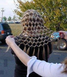 This is the coolest thing I have ever seen. If you did that to Rapunzel's hair... InstaBlanket.