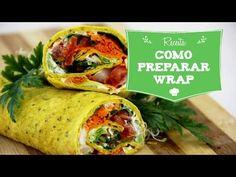 13 Receitas de Wraps Vegans [Vídeos]   UniPlanet