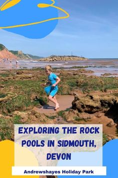 Sidmouth is great for families especially at low tide on the Jacobs ladder side of the beach when the sandy area is more exposed, it's perfect for anyone wishing to explore the rockpools. Sidmouth offers stunning views of the coastline in both directions and has plenty of ice cream shops!!! Uk Beaches, Fossil Hunting, Jurassic Coast, Jacob's Ladder, Holiday Park, Rock Pools, Pebble Beach, Stunning View, World Heritage Sites