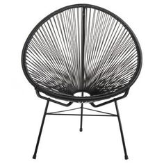 Shop for Handmade Acapulco Papasan Lounge Chair. Get free delivery On EVERYTHING* Overstock - Your Online Garden & Patio Shop! Get in rewards with Club O! Patio Lounge Chairs, Outdoor Lounge, Outdoor Chairs, Indoor Outdoor, Indoor Hammock, Outdoor Furniture, Dining Chairs, Adirondack Chairs, Outdoor Ideas