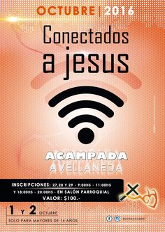 Segundo cartel de la acampada que se realizó en Avellaneda... Diseño: Damián Basabilbaso