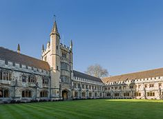 Magdalen College, University of Oxford | New Quad and Founders Tower