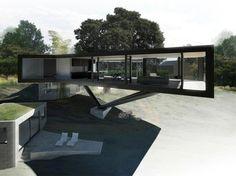 Napa River House, California