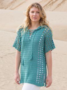 ANNIE'S SIGNATURE DESIGN: Miramar Tee Crochet Pattern from Annie's Craft Store. Order here: https://www.anniescatalog.com/detail.html?prod_id=135583&cat_id=414
