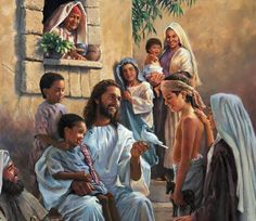 ♥ Jesus and the children