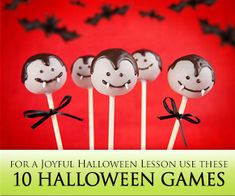 10 Fun Halloween games for English practice #esl #ell #studyfun #ellchat