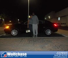 #HappyAnniversary to Jarrette Chaney on your 2013 #Chrysler #200 from Brandon Robinson at Wolfchase Chrysler Jeep Dodge!