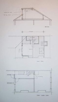Find on this page some loft designs for a terraced house loft conversion for both a dormer and rooflight. Contact Touchstone Lofts today for a free quote 0800 Terraced House Loft Conversion, Attic Conversion, Loft Conversions, Attic Loft, Loft Room, Attic Spaces, Attic Rooms, Architecture Blueprints, Loft Plan