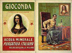 """Acqua Minerale """"Gioconda"""", Italy"""