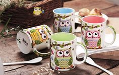 Best price on Creative Cartoon Owl Ceramic Coffee Mug //    Price: $ 19.90  & Free Shipping Worldwide //    See details here: https://mrowlie.com/product/creative-cartoon-owl-ceramic-coffee-mug/ //    #owl #owlnecklaces #owljewelry #owlwallstickers #owlstickers #owltoys #toys #owlcostumes #owlphone #phonecase #womanclothing #mensclothing #earrings #owlwatches #watches #owlporcelain