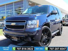 2008 Chevrolet Chevy Tahoe LT  4WD Blue $23,888 60842 miles 707-514-3622 Transmission: Automatic  #Chevrolet #Tahoe #used #cars #NinoMotors #Vallejo #CA #tapcars