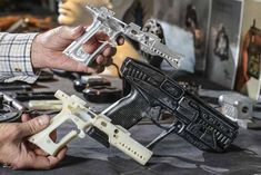 10 Ways 3-D Printing Could Change the World | Walter Klassen holds a fantasy gun that actually fires bullets, which he created on his 3D printer. [3D Printing: http://futuristicnews.com/tag/3d-printing/ Future Military Technologies: http://futuristicnews.com/tag/military/]
