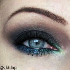 Colorful line with black – Makeup Geek Idea Gallery