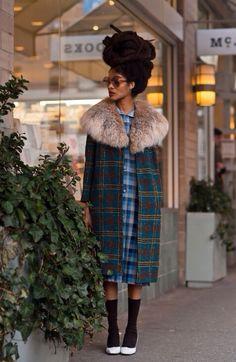 Coat # fashion #naturalhair