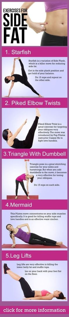 Tone up and get rid of love handles