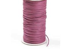 Cotton Thong Cord, Cotton Cord, (10 Metres,) Bootlace Cord, Dusky Pink,  £2.50