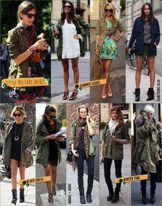 Trend Alert: Militar chique! | Fashionismo | Thereza Chammas