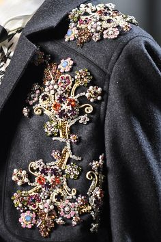 Jason Wu floral beaded embellishment detail