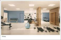 Home Gym Design, Office Space Design, House Design, Gym Interior, Lobby Interior, Interior Design, Workout Room Home, Workout Rooms, Dream Home Gym