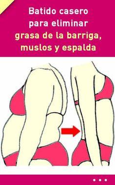 #batido  #casero de #banana y #jengibre para #eliminar #grasa de la #barriga, #muslos y #espalda #adelgazar