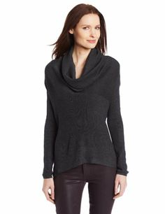 T Tahari Women's Poplar Sweater, Pavement Melange, X-Large T Tahari,http://www.amazon.com/dp/B00EKGBDII/ref=cm_sw_r_pi_dp_RqsVsb1BP8BS2ZS3