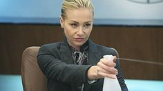 "As Veronica in ""Better Off Ted"", Portia de Rossi not only rocks a power suit, but also is very, very funny. Ellen Degeneres And Portia, Ellen And Portia, Better Off Ted, Strong Female Characters, Fictional Characters, Portia De Rossi, Other Woman, Veronica, Growing Up"