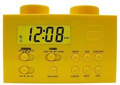 Wiosna, czyli czas liczony żółtym zegarem w kształcie klocka LEGO! :)