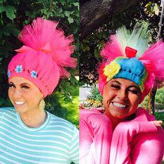 Princess Poppy TROLL HAIR or Lady Glitter Sparkles or choose a