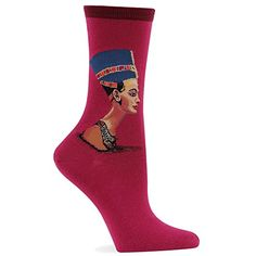 Hot Sox Nefertiti Sock * MORE INFO @ http://www.ilikeboutique.com/boutique/hot-sox-nefertiti-sock/?a=5681