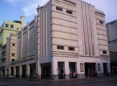 Cine-Teatro Fausto, Havana, Cuba.