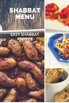 Shabbat Menu - Easy ideas for Shabbat