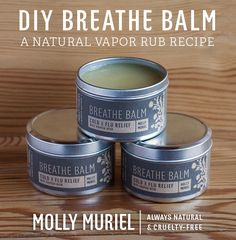 DIY Breathe Balm (A Natural Vapor Rub Recipe)