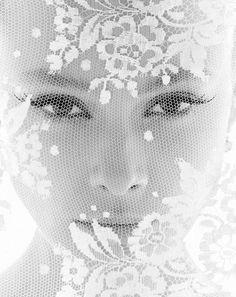 Audrey Hepburn by Luiz Scapol. ***stunning!