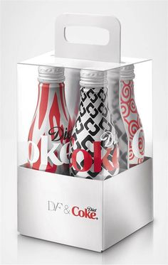 Diane von Furstenberg is the latest in designer collaborations, with the Diet Coke Limited Edition Collection by Diane von Furstenberg.