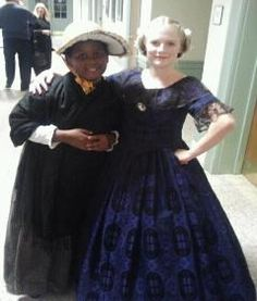 Dasia (Town kid) and Jenna, (The famous Jenny Lind)