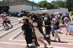 Llegando a Chichén Itzá...