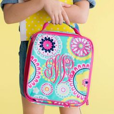 Piper Monogrammed Lunchbox - Perfect insulated lunch box to keep her lunch  cool for hours! d60361a22d