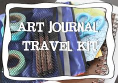 Little Luck Tree: Art Journal Travel Kit