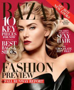Kate Winslet Harper's Bazaar US June 2014 by Daniel Jackson