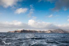 dramitic view on caldera from the sea, Santorini. picked by www.erosseavilla.com. photographer - Haris Sfakianakis