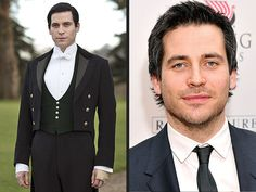 Downton Abbey: See the Cast Out of Costume  Downton Abbey (Oh man! Thomas Barrow is hot!!!)