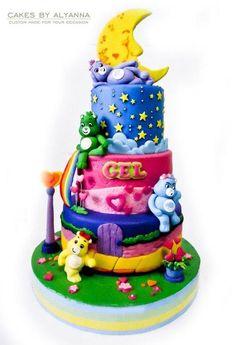 *Care bears cake