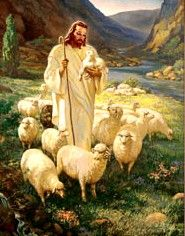 The Lord IS My Shepherd....and there is no other place I would rather be than in his arms.