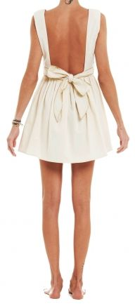 Petites robes blanches dos nu | Happy Chantilly
